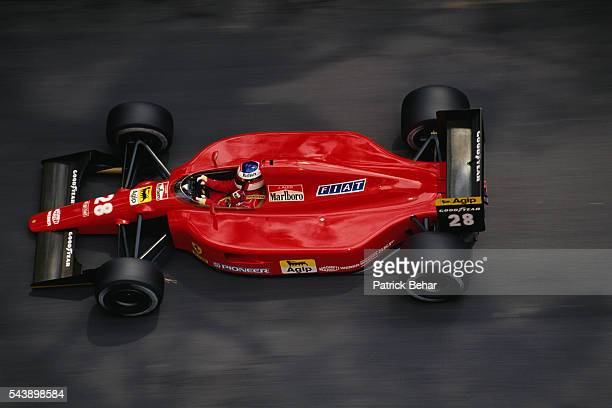 French Formula One driver Jean Alesi during the 1991 Monaco Grand Prix.