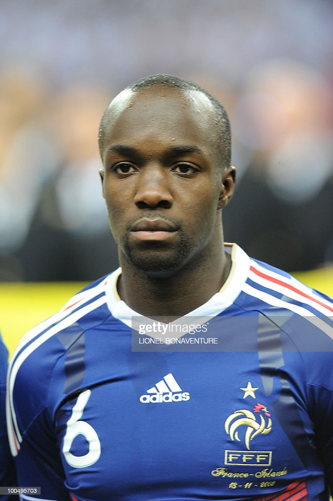 French forward Lassana Diarra is pictured before the World Cup 2010 qualifying football match France vs. Republic of Ireland on November 18, 2009 at the Stade de France in Saint-Denis, northern Paris.