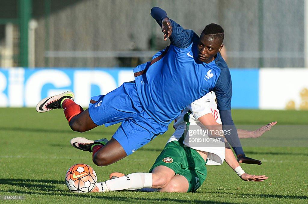 FBL-FRA-U21-BUL-FRA : News Photo