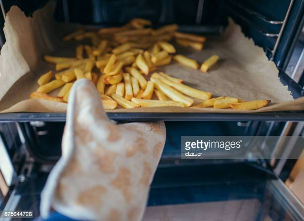French Fries in the oven