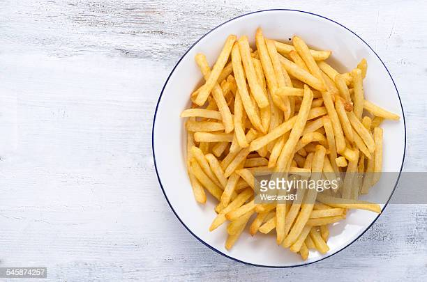 french fries on plate - fries imagens e fotografias de stock