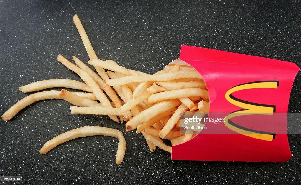 McDonald's Reveals Presence Of Possible Allergens In Fries : News Photo