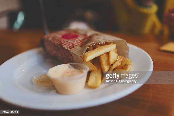 French Fries with Garlic Mayo