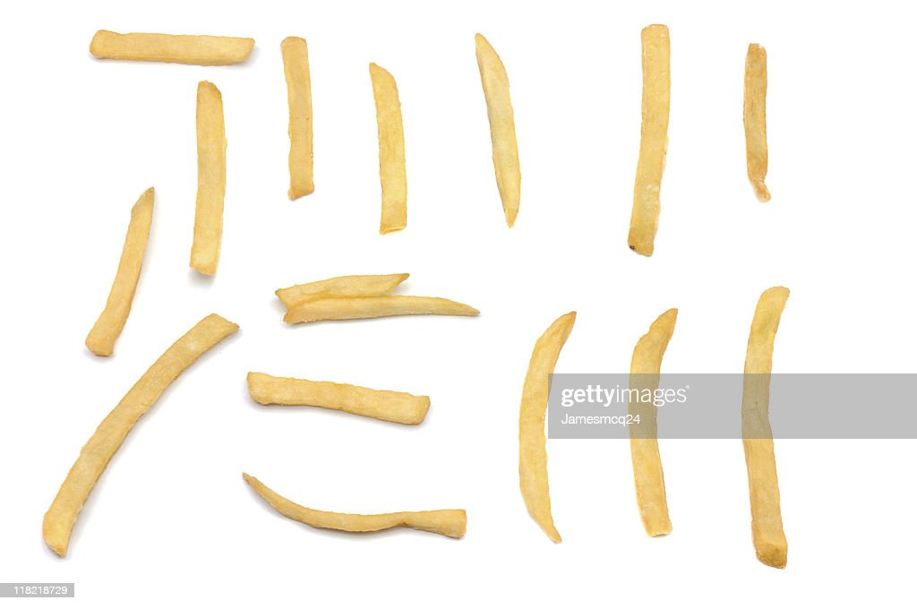 French Fry Samples : Stock Photo