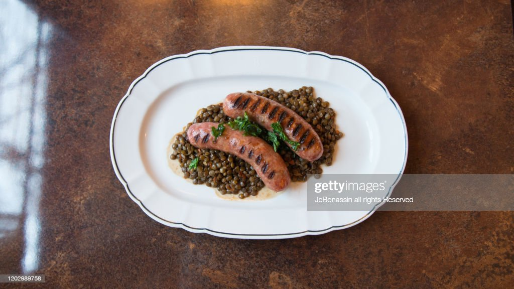 French Fusion cuisine : Stock Photo