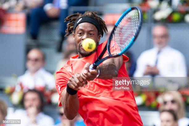 French Gael Monfils during Mutua Madrid Open 2018 at Caja Magica in Madrid Spain May 09 2018