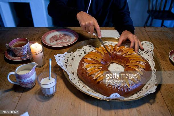 French Galette des Rois cake