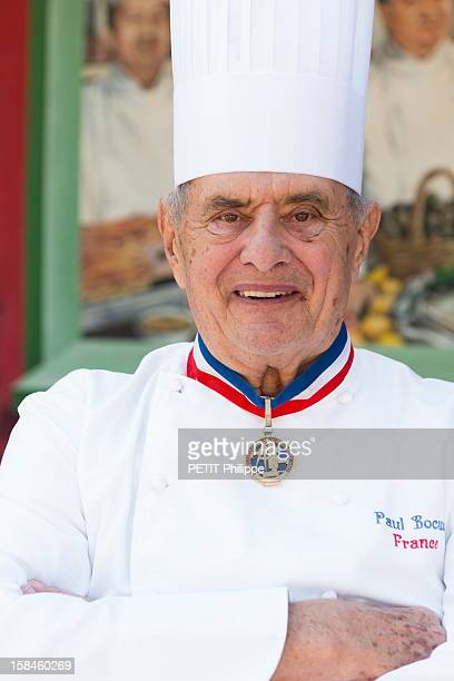 MONTd'OR FRANCE MARCH 28 French gastronomy from father to son the best French Chefs reunited with their descendants in the restaurant of Chef Paul...