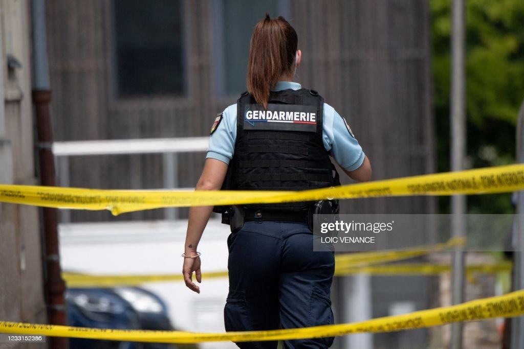FRANCE-POLICE-ASSAULT-INVESTIGATION : News Photo
