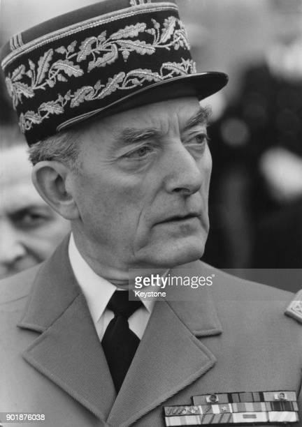 French General Alain de Boissieu Grand Chancelier de l'ordre de la Légion d'Honneur and Chancelier de l'Ordre National du Mérite 1981 He is...