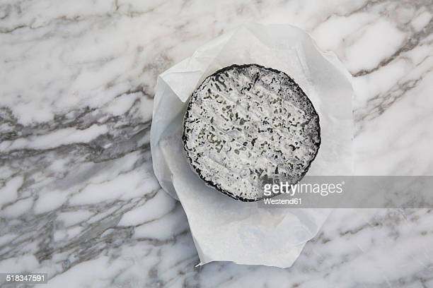 French goat cheese with ash rind