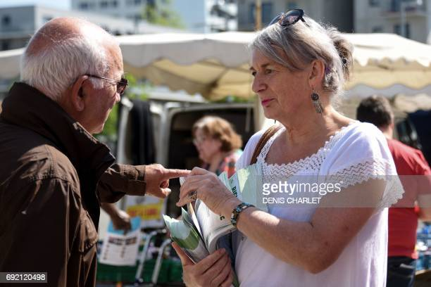 French Green Party EuropeEcologieLes Verts candidate for the upcoming legislative elections for the second circumscription of the North Helene Hardy...