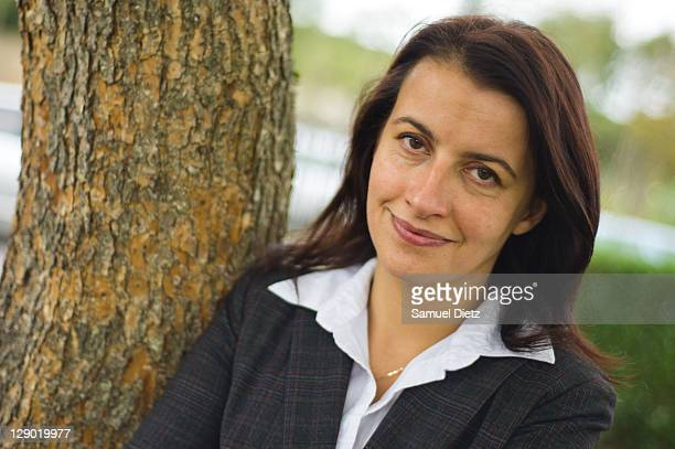 French Green Party National Secretary Cecile Duflot attends the Parliamentary Days on October 10 2011 in Rambouillet France The Parliamentary Days...