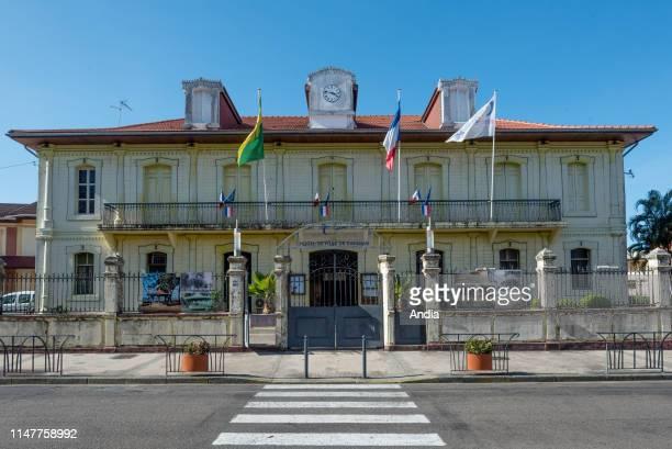 French Guiana, Cayenne: the city hall.