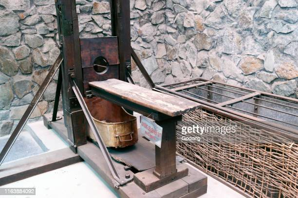 French guillotine War Museum Ho Chi Minh City Vietnam