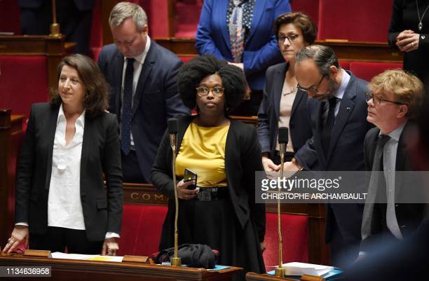 French Health and Solidarity Minister Agnes Buzyn French Junior Minister and Government's spokesperson Sibeth NDiaye French Prime Minister Edouard...