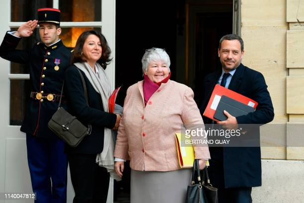 French Health and Solidarity Minister Agnes Buzyn French Minister of Territorial Cohesion and Relations with Territorial Communities Jacqueline...