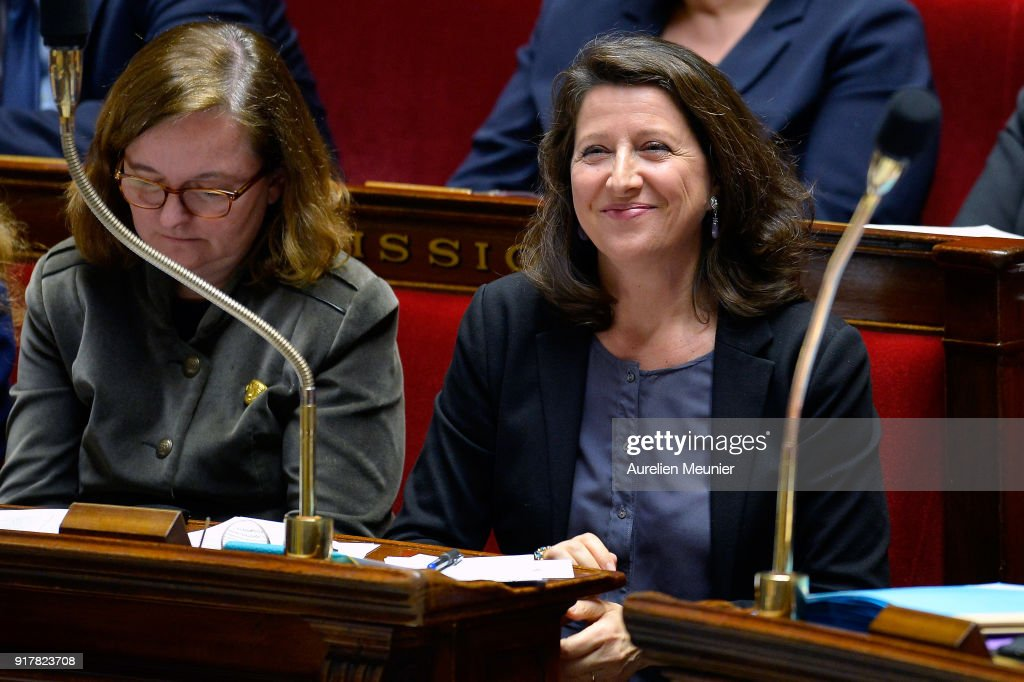 Sessions Of Questions To The Government At French Parliament : News Photo