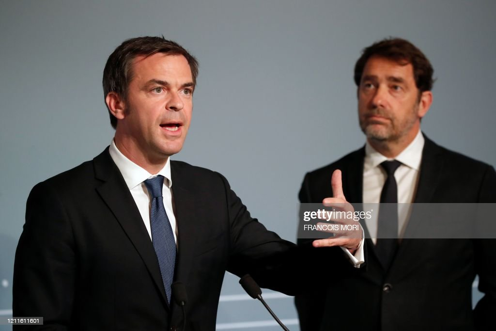 French Health And Solidarity Minister Olivier Veran And French News Photo Getty Images