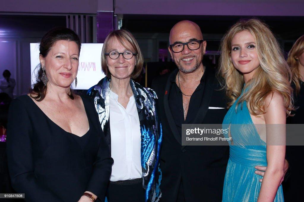 16th Sidaction  - Paris Fashion Week - Haute Couture Spring Summer 2018 : News Photo