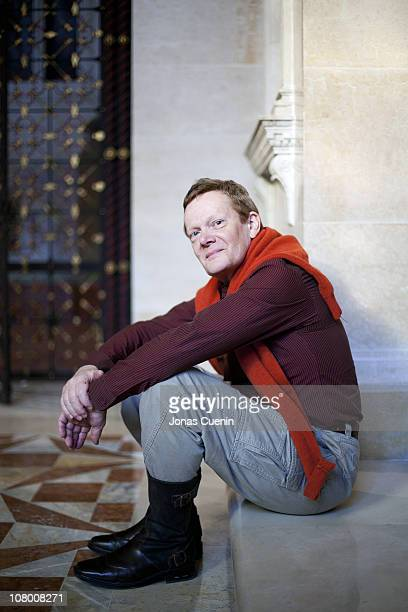 French high wire artist Philippe Petit poses at a portrait session for FranceAmerique in New York City New York on November 02 2010