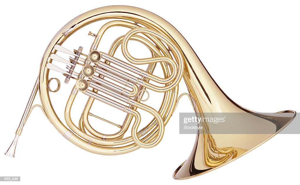 French Horn : Stock Photo