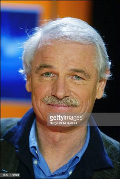 French Host At The Tv Show 'Vol De Nuit' On December 2 2003 In Paris France Yann ArthusBertrand