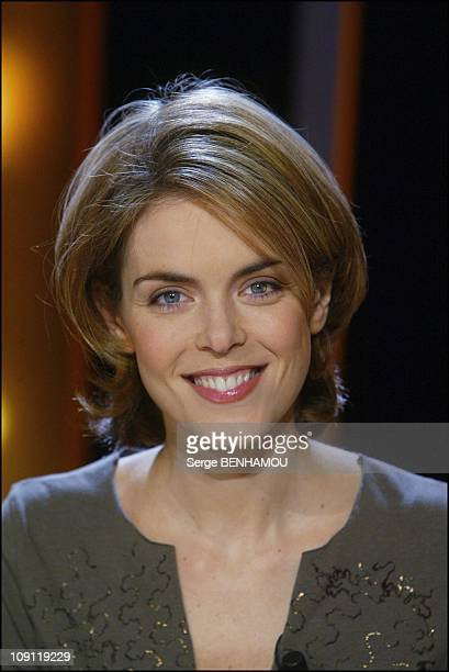 French Host At The Tv Show Vol De Nuit On December 2 2003 In Paris France Julie Andrieu