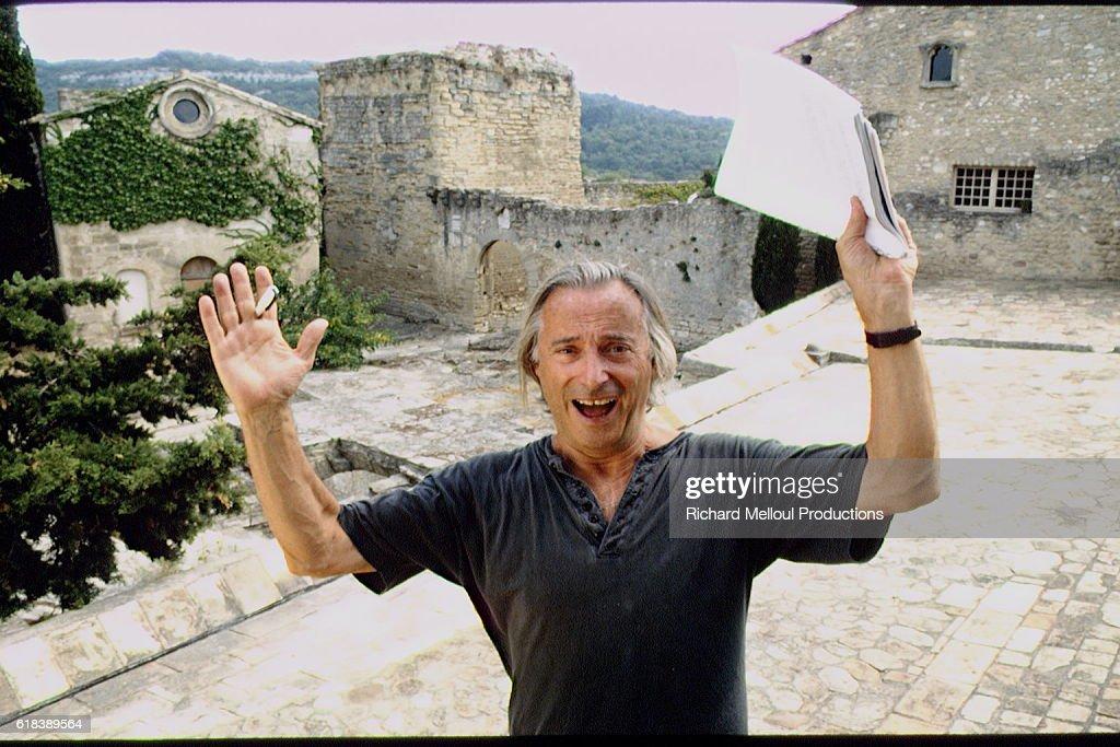 French Humorist Alex Metayer : Nachrichtenfoto