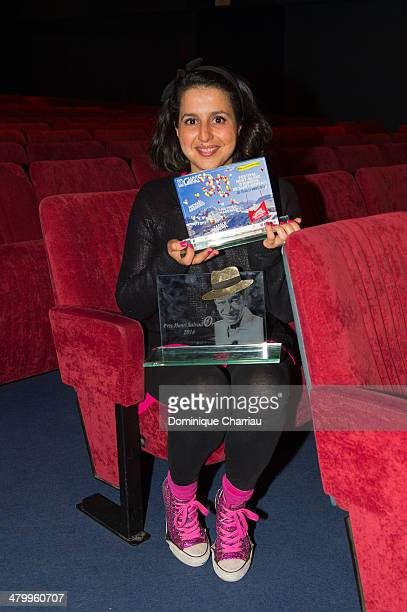 French humorist Nadia Roz Awarded Audience Prize and Salvador Prize during the Closing Ceremony of the 30th International Festival MontBlanc D'Humour...