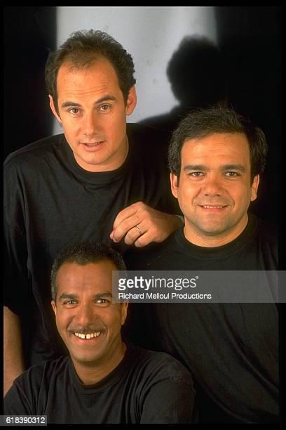 Bernard Campan Pascal Legitimus and Didier Bourdon