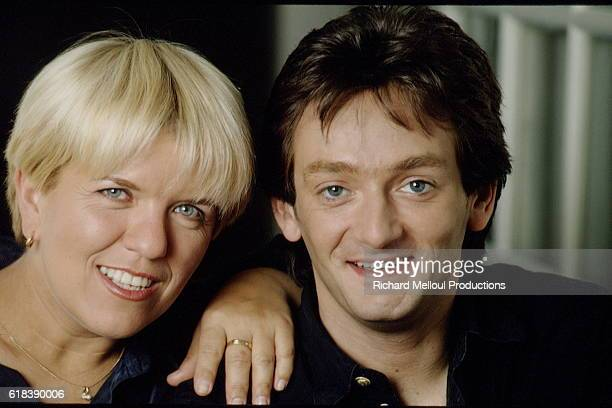 French Humorists Mimie Mathy and Pierre Palmade
