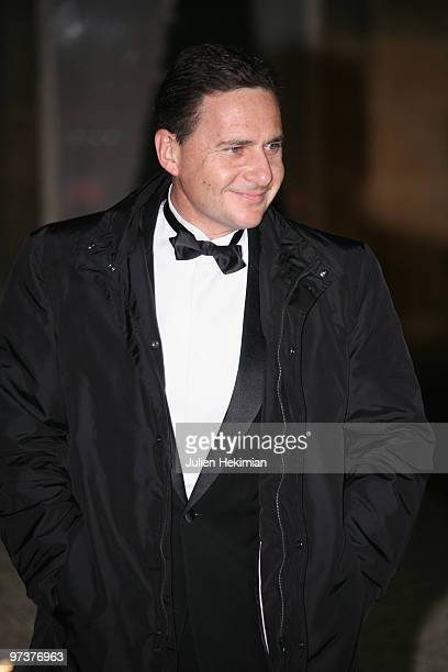 French Immigration Minister Eric Besson arrives to attend a state dinner honouring visiting Russian President Dmitry Medvedev at the Elysee Palace on...