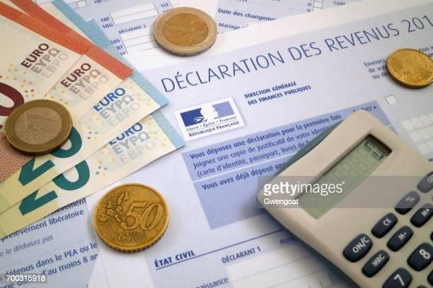 Formulaire d'impôt Français