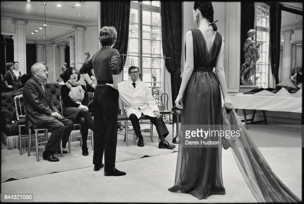 French industrialist and patron Pierre Berge was co founder of the Yves Saint Laurent Couture fashion house and onetime life partner and longtime...