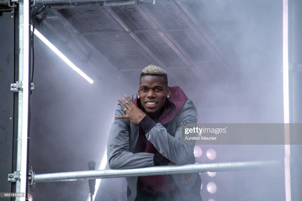 Adidas Football X Paul Pogba : Capsule Collection Launch At Port Debilly In Paris