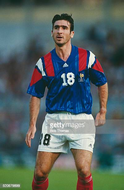 French international footballer Eric Cantona circa 1993