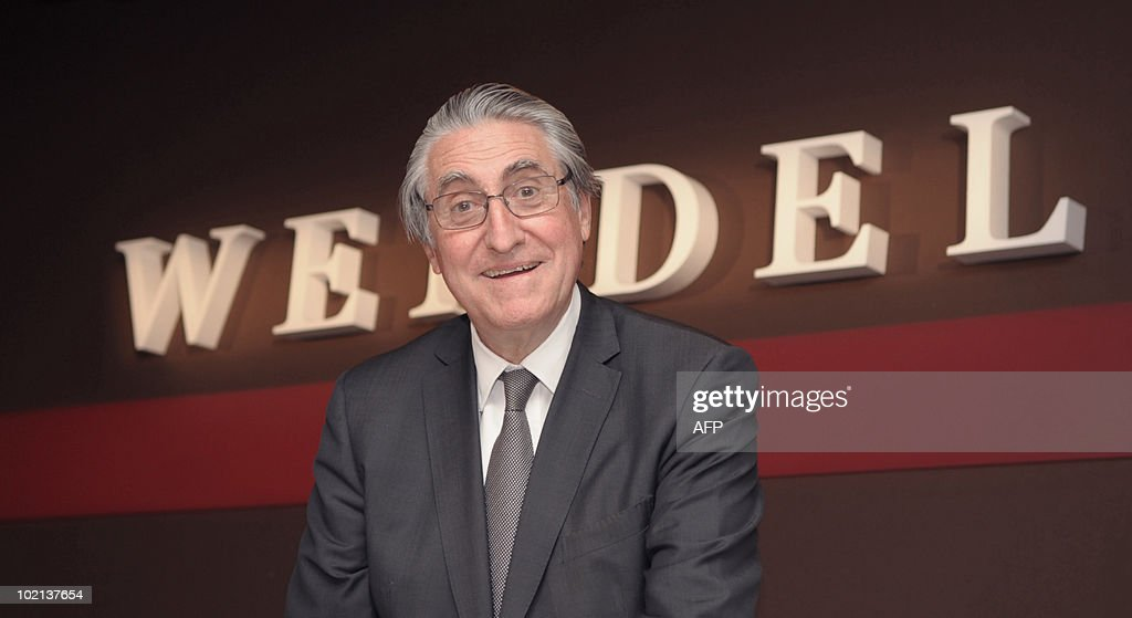 French investment group Wendel Chairman of the Supervisory Board Ernest-Antoine Seilliere poses prior to the Wendel general meeting on June 4, 2010 in Paris. Wendel Investissement, a quoted investment company, is specialised in buying stakes in industrial groups.