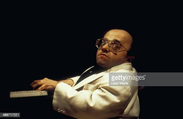 French jazz pianist Michel Petrucciani on stage, 1994.