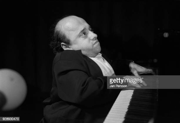 French jazz pianist Michel Petrucciani performing at Copenhagen, Denmark, Jazzhouse July 1993.