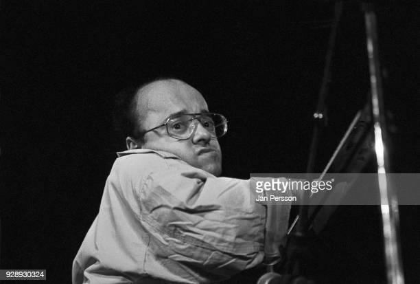 French jazz pianist Michel Petrucciani performing at Jazzhouse Montmartre Copenhagen Denmark August 1990
