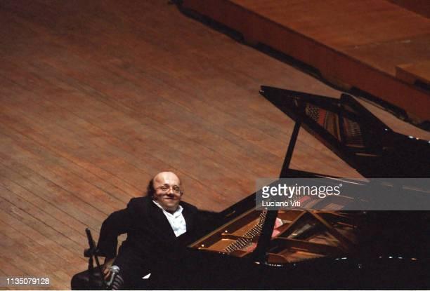 French jazz pianist Michel Petrucciani, Rome 1994 / Michel Petrucciani, pianista jazz, Rome, Italy, 1994.