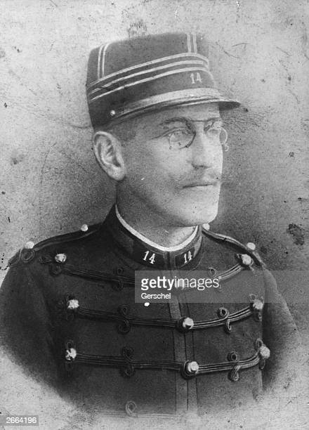 French Jewish army officer Alfred Dreyfus falsely accused of selling military secrets to Germany and imprisoned on Devil's Island