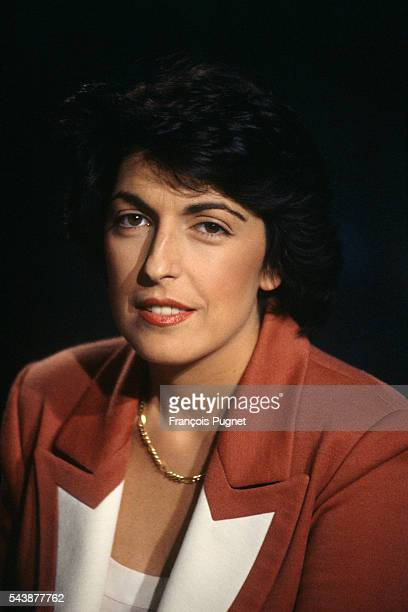 French Journalist and Broadcaster Ruth Elkrief