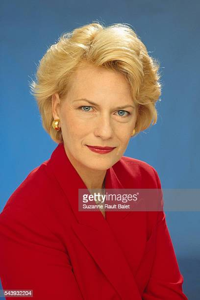 French Journalist and Newscaster Catherine Ceylac
