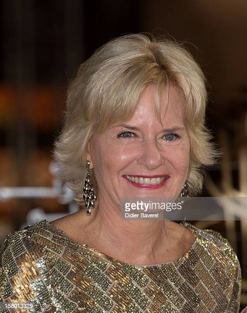 French journalist Catherine Ceylac attends the closing ceremony at the 12th International Marrakech Film Festival on December 8 2012 in Marrakech...