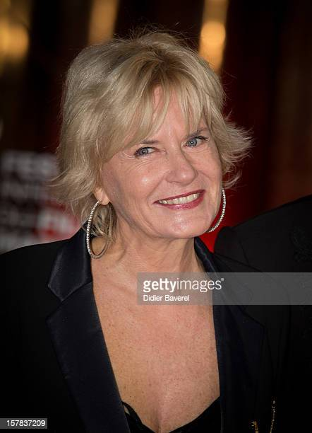 French journalist Catherine Ceylac attends the tribute to Jonathan Demme at 12th International Marrakech Film Festival on December 6 2012 in...