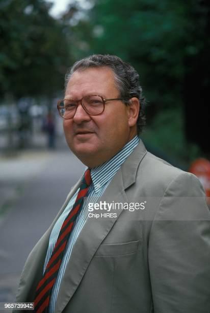 French journalist Gerard Carreyrou August 24 1988