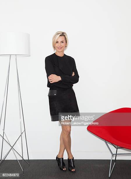 French journalist Laurence Ferrari is photographed for Madame Figaro on October 5 2016 in Paris France All PUBLISHED IMAGE CREDIT MUST READ Robert...
