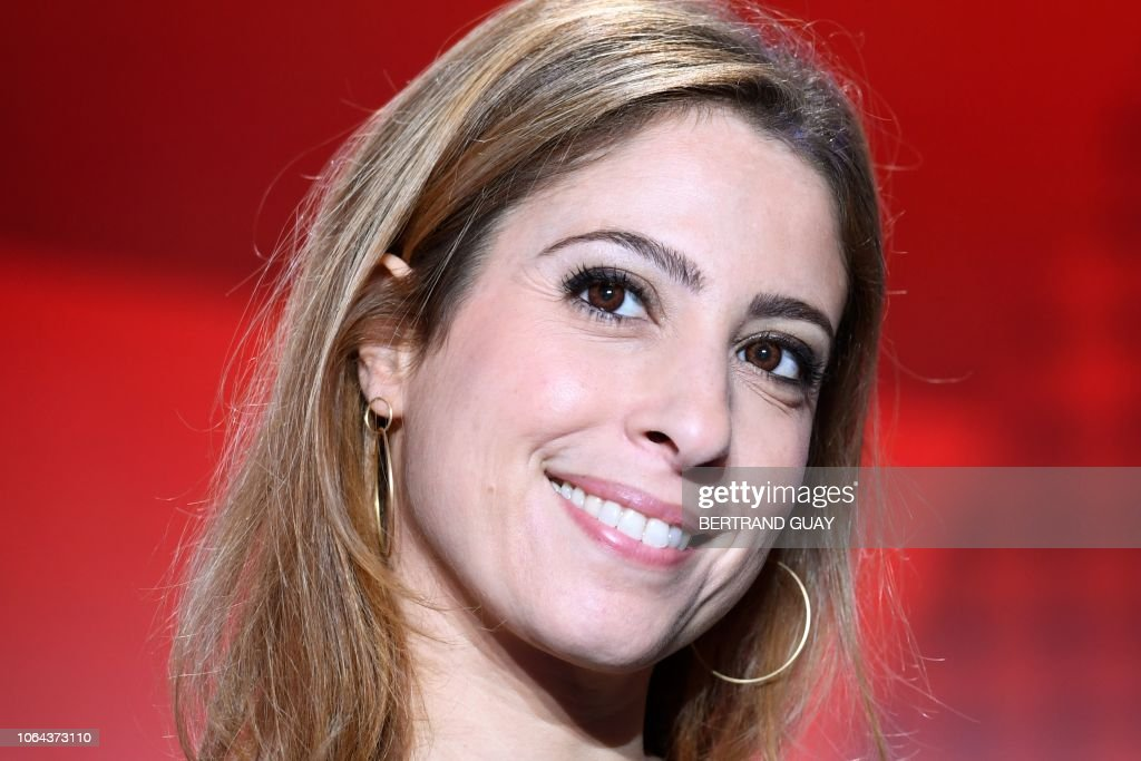 French Journalist Lea Salame The Political Tv Show L Emission Nachrichtenfoto Getty Images